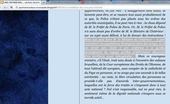 """France: un candidat FN suggère de """"concentrer"""" les Roms """"dans des camps"""""""