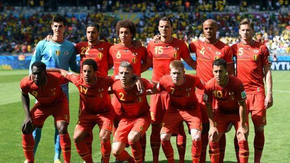 Les Diables Rouges contre l'Algérie