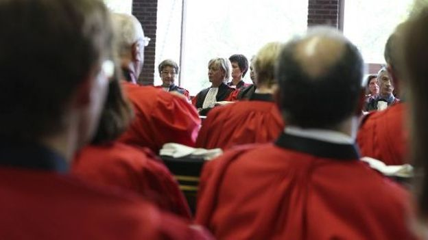 Plus d'hommes que de femmes dans la hiérarchie judiciaire