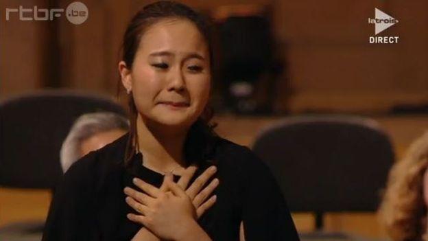 Lim Ji Young 1e lauréate du Concours Reine Elisabeth 2015