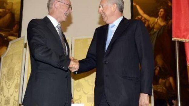 Herman Van Rompuy et Mario Monti d'accord pour organiser un sommet contre les populismes