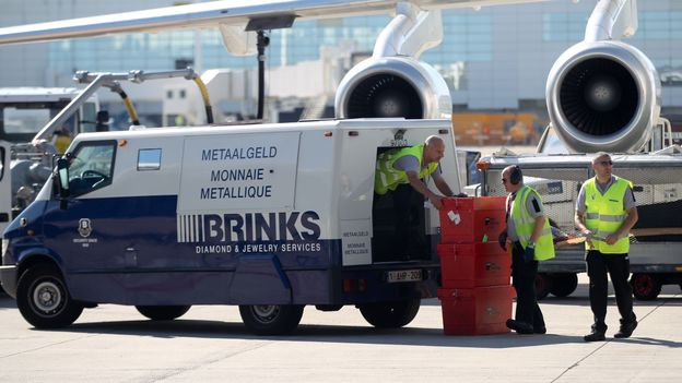Un fourgon du transporteur Brink's avaient été braqués en février 2013