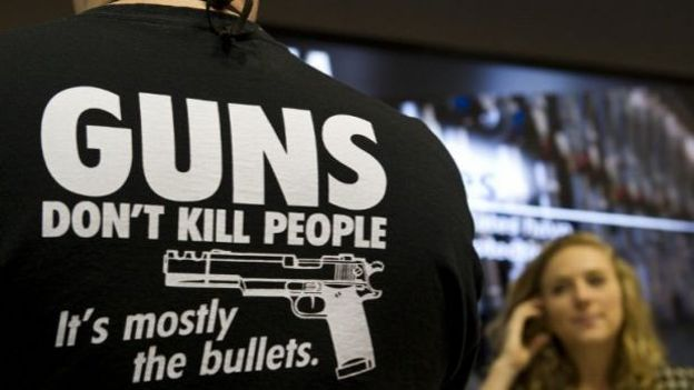 """""""Les armes à feu ne tuent pas, ce sont surtout les balles""""..."""