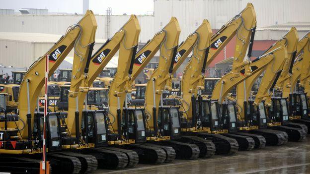1 400 emplois vont disparaître chez Caterpillar