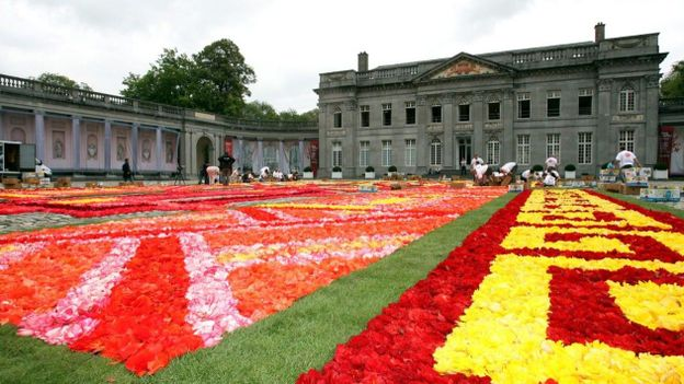 tapis fleuri 224 seneffe rtbf regions