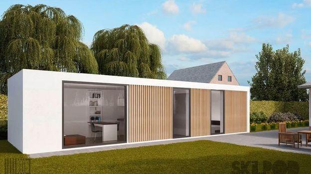 pourquoi ne pas loger les personnes g es dans un pr fabriqu au jardin rtbf societe. Black Bedroom Furniture Sets. Home Design Ideas