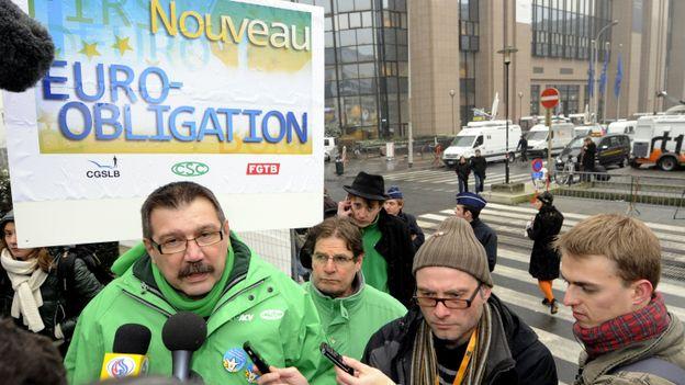 Il y aura des actions syndicales symboliques à Bruxelles ce 29 février