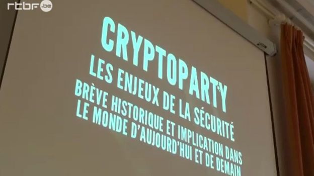 Au cœur d'une cryptoparty,où l'on apprend à crypter soi-même ses données
