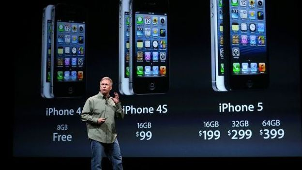 Phil Schiller d'Apple présente l'iPhone 5