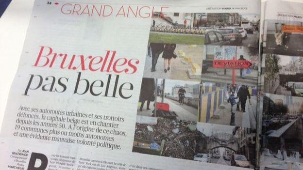 """Dans Libé, un portrait coup de gueule de """"Bruxelles pas belle"""" de Jean Quatremer"""