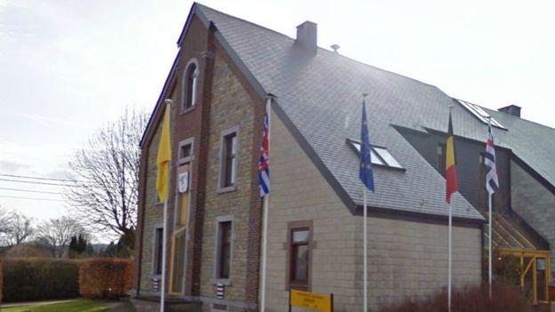 La maison communale de Manhay.