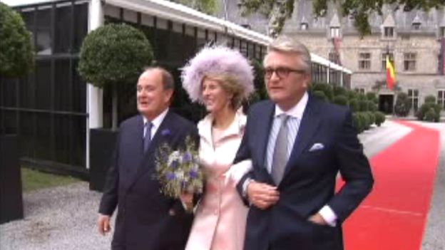 Le Prince Laurent aux noces du