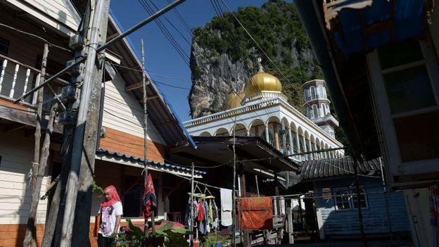 Une mosquée dans le sud de la Thaïlande