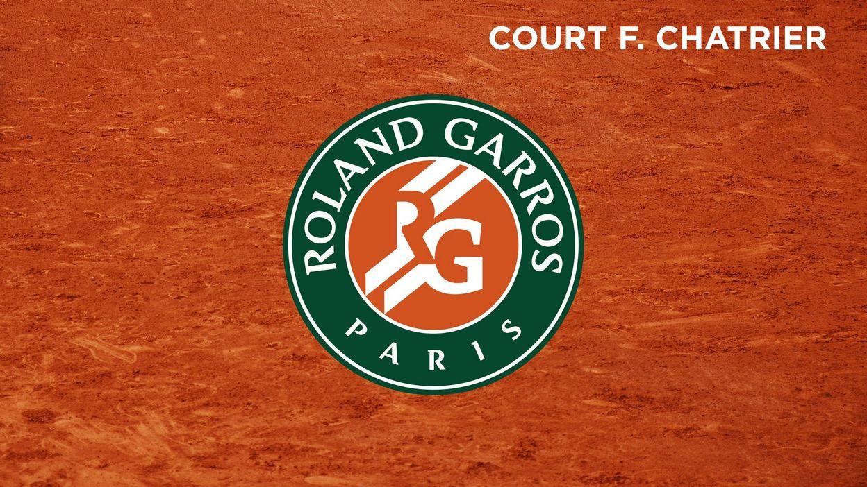 Tsonga-Baghdatis: Court Philippe Chatrier, J5