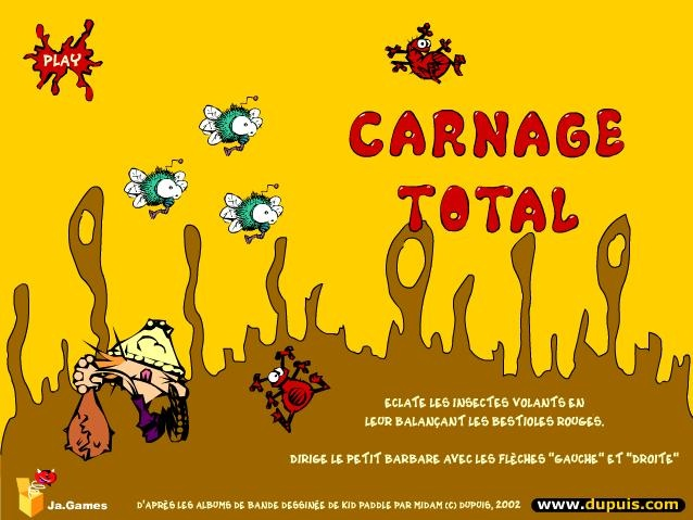 Kid Paddle : Carnage Total
